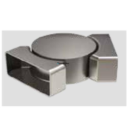 Garde-corps aluminium TOUT VERRE gamme IKARIA