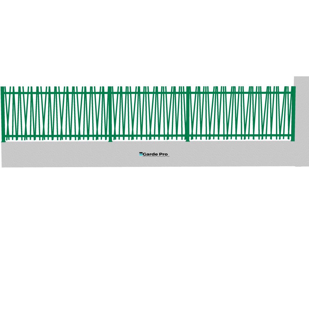 Clôture Bambou hauteur entre 800 mm et 1200 mm