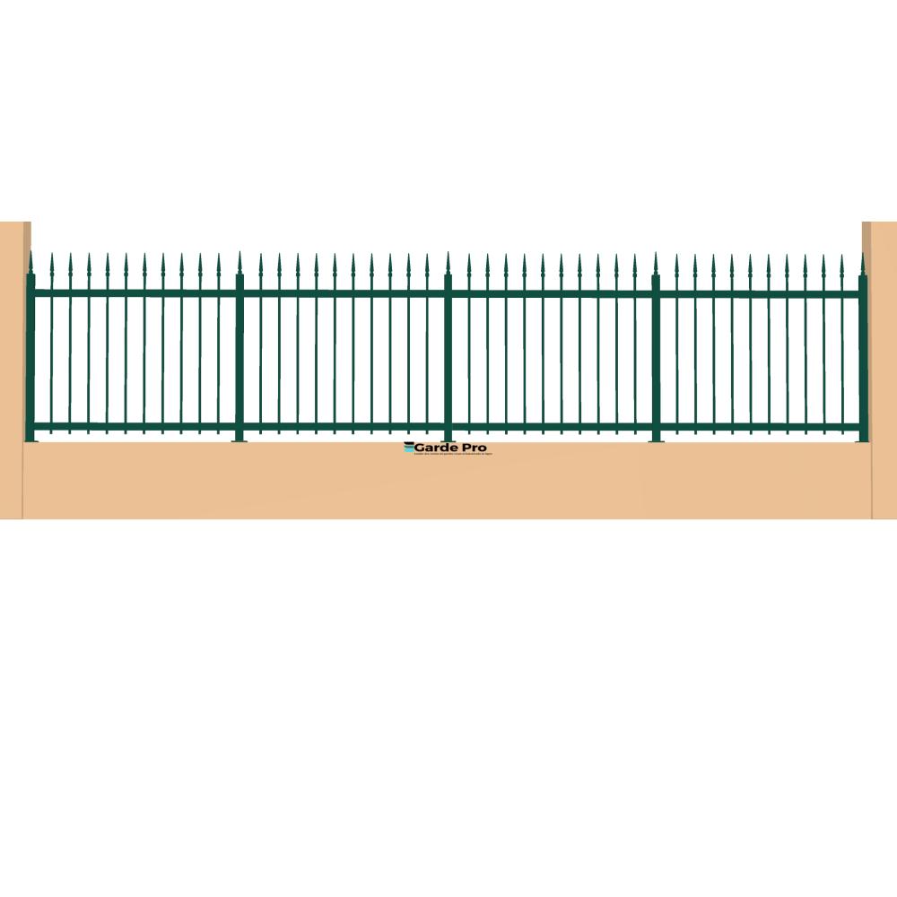 Clôture Bégonia hauteur entre 800 mm et 1200 mm