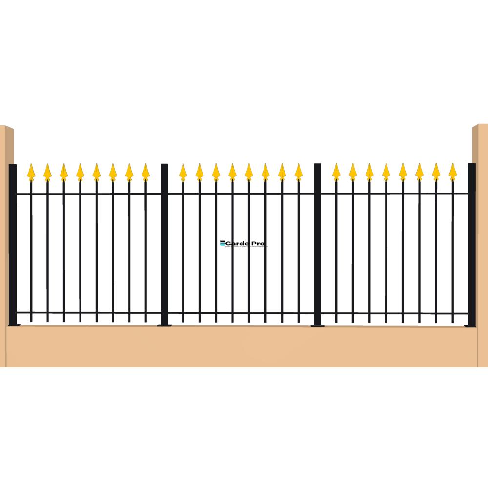 Clôture Marguerite hauteur entre 800 mm et 1200 mm