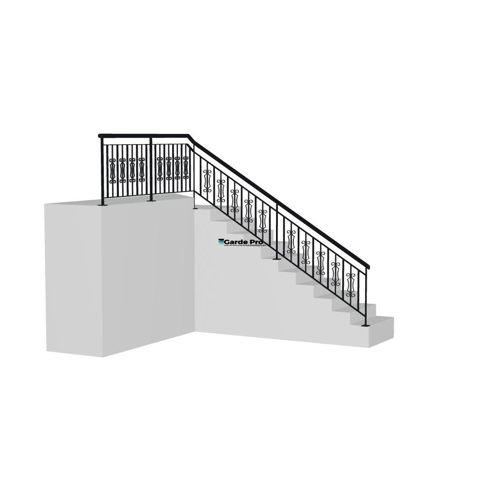 Rambarde escalier oreilles