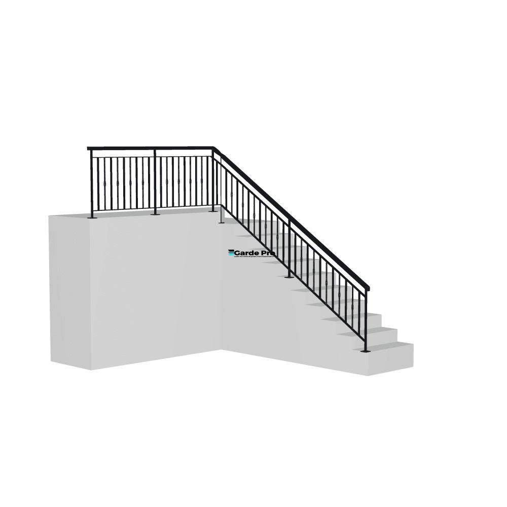 Rambarde escalier Rotule