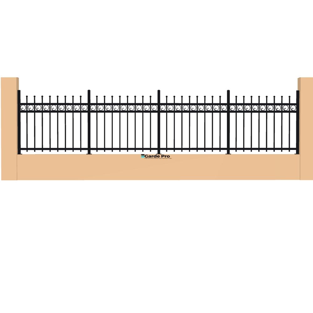 Clôture Escargot hauteur entre 800 mm et 1200 mm