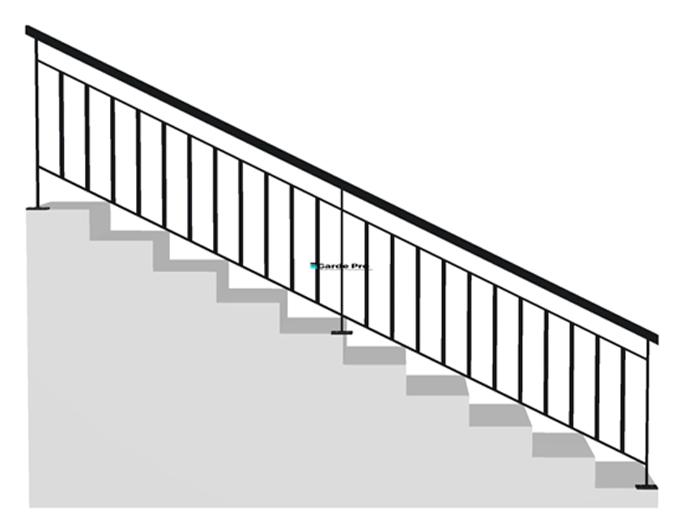 Rampe et rambarde escalier